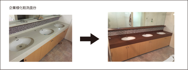 Cosmetic washbasin