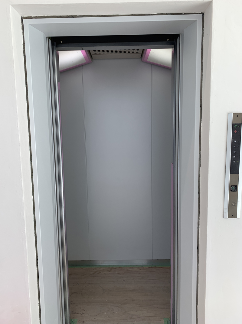 エレベーター施工後